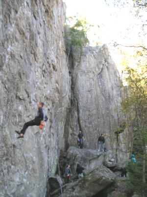 Sport Climbing in Oslo Norway
