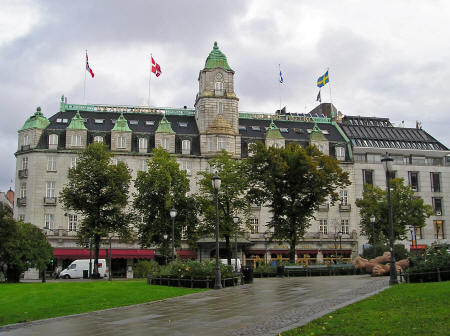 Grand Hotel in Oslo Norway