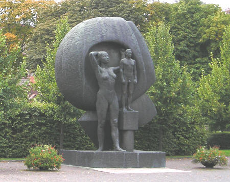 Monument in Oslo Norway