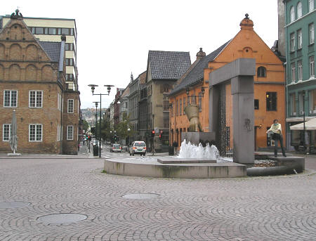 City Square in Oslo Norway