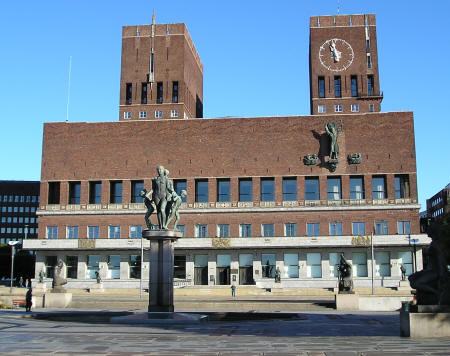 Park City Hotels >> Oslo Town Hall - The Radhus - Oslo Norway